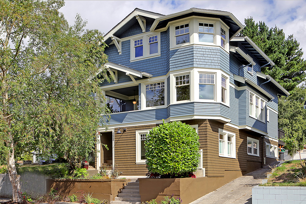 Ballard family home and apartment restoration and sale